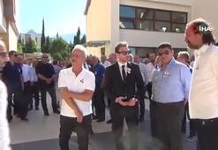 Denizlispor efsanevi başkanlarından İpek son yolculuğuna uğurlandı