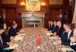 Cumhurbaşkanı Erdoğan, Japonya Temsilciler Meclisi Başkanı Tadamoriyi kabul etti