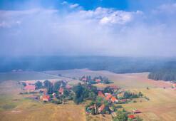 Almanyada 600 hektarlık ormanlık alan yandı