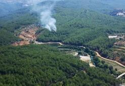 Alanya ve Geliboluda orman yangını