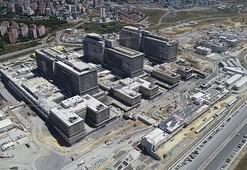 Başakşehir Şehir Hastanesinin yüzde 60ı tamamlandı 10 bin kişiye istihdam sağlayacak
