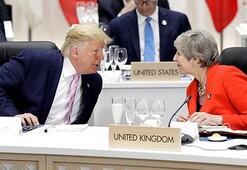 Trump, İngiltere Başbakanı May ile görüştü