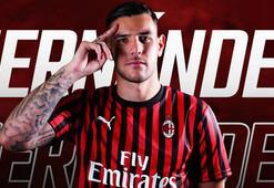 Milan, Theo Hernandezi renklerine bağladı