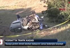 Yozgatta trafik kazası