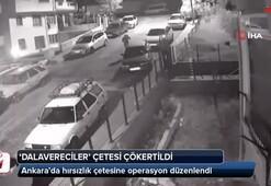 'Dalavereciler' çetesi çökertildi... Ankara'da hırsızlık çetesine operasyon