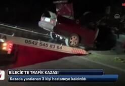 Bilecikte trafik kazası: 3 yaralı
