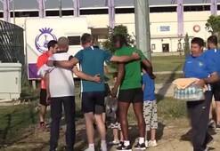 Rodallega ilk antrenmanına çıktı
