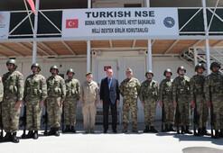 Cumhurbaşkanı Erdoğan, Bosnada 'Barış Gücü'nde görevli Türk askerleri ziyaret etti
