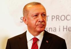 Son Dakika: Cumhurbaşkanı Erdoğan: En kısa zamanda başlamayı öngörüyoruz