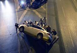 Bayrampaşada trafik kazası