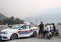 Muğlada korkutan yangın kontrol altına alındı