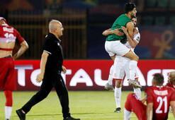 Tunus çeyrek finalde gol yağdırdı Rakip...