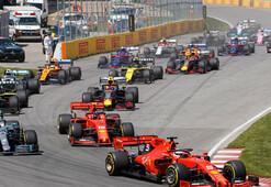 Formula 1de heyecan Büyük Britanya Grand Prixsinde