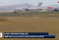 Bakanlıktan son dakika S-400 açıklaması: Teslimat süreci başladı