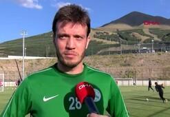 Giresunsporun yeni transferi Numan Çürüksu: Şampiyonluk adayıyız