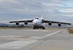 S-400 teslimatında ikinci gün... Rus uçağı Ankaraya indi