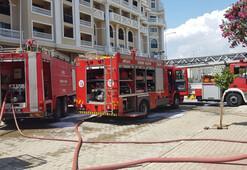 5 yıldızlı oteldeki yangın korkuttu