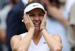 Serena Williamsı deviren Simona Halep şampiyon