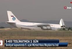 Sevkiyat devam ediyor 5. uçak da indi