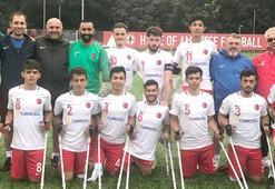 23 Yaş Altı Ampute Milli Takımı, İngilterede şampiyon