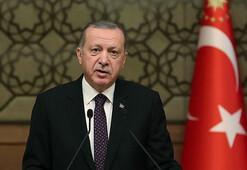 Erdoğandan şehit ailelerine taziye telgrafı