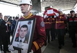 Şehit astsubay Cengiz Tokur, Ankarada toprağa verildi