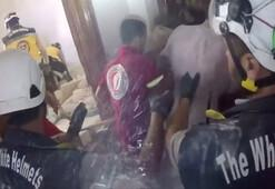 İdlibde yine bombardıman sesleri