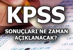 KPSS sonuçları ne zaman açıklanacak 2019 KPSS soru ve cevapları yayımlandı
