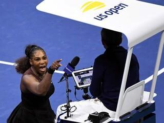 Serena Williams finalde çıldırdı Hırsızsın...