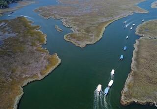 Dolmuş teknelerin labirent yolculuğu