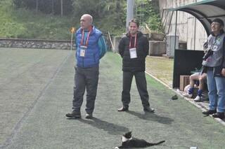 Her maça kara kediyle çıkıyorlar...