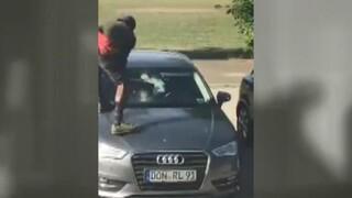 Başvurusu reddedilince çıldırdı Hıncını otomobillerden çıkardı