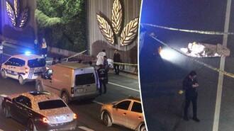 E-5'te feci ölüm! Metrobüs üst geçidinden atladı araba çarparak metrelerce sürükledi