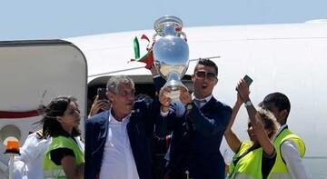 Portekiz Milli Takımı ülkede böyle karşılandı!