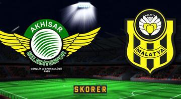 Akhisarspor - Evkur Yeni Malatyaspor: 0-2