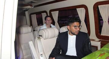 Trabzonspor'un yeni transferi Gaston Campi şehre geldi